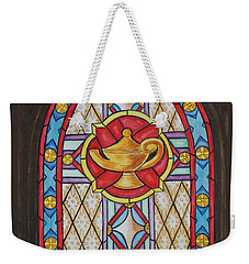 Chapel Window Weekender Tote Bag