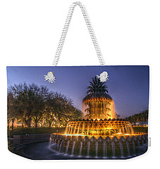 Charleston Pineapple Fountain Weekender Tote Bag