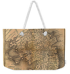 Charleston Vintage Map No. I Weekender Tote Bag
