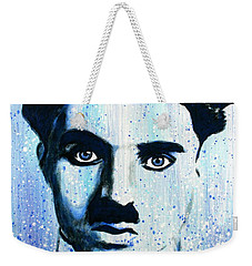 Charlie Chaplin Little Tramp Portrait Weekender Tote Bag