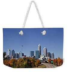 Charlotte North Carolina Weekender Tote Bag
