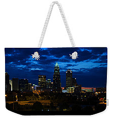 Charlotte North Carolina Panoramic Image Weekender Tote Bag