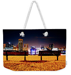 Charm City View Weekender Tote Bag