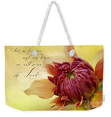 Charmed With Bible Verse Weekender Tote Bag