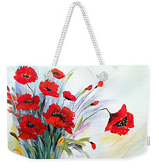 Charming Weekender Tote Bag by Dorothy Maier
