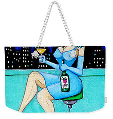 Charming Lady At Night Weekender Tote Bag by Don Pedro De Gracia