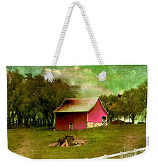 Weekender Tote Bag featuring the photograph Chartreuse Of Legend by Liane Wright