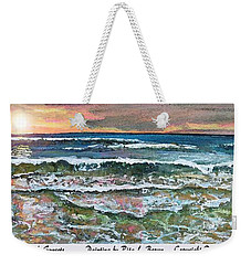 Chasing Chatham Beach Sunsets Weekender Tote Bag by Rita Brown