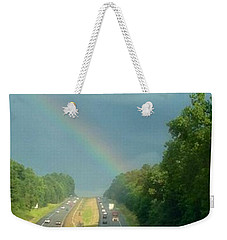 Chasing The Rainbow Weekender Tote Bag by M West