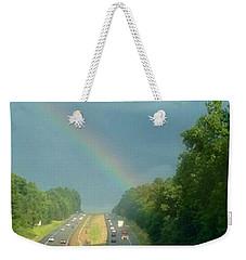 Chasing The Rainbow Weekender Tote Bag