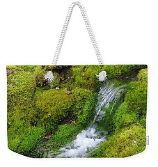 Weekender Tote Bag featuring the photograph Chasing Waterfalls by Marilyn Wilson