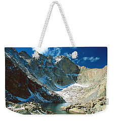 Chasm Lake Weekender Tote Bag by Eric Glaser