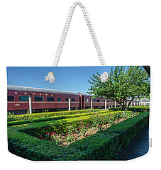 Weekender Tote Bag featuring the photograph Chattanooga Choo Choo 2 by Susan  McMenamin