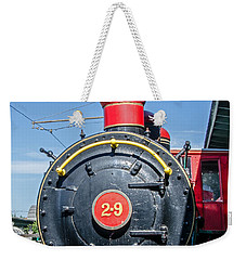 Chattanooga Choo Choo Steam Engine Weekender Tote Bag by Susan  McMenamin