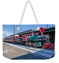 Weekender Tote Bag featuring the photograph Chattanooga Choo Choo by Susan  McMenamin