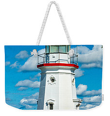 Cheboygan Crib Weekender Tote Bag
