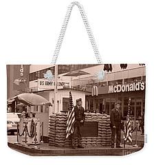 Check Point Charlie Weekender Tote Bag