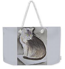 Cheeky Cat  Weekender Tote Bag