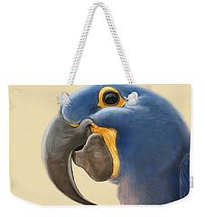 Cheeky Parrot Weekender Tote Bag