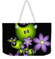 Weekender Tote Bag featuring the digital art Cheerful by Gabiw Art