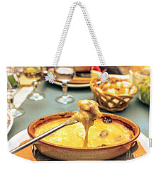 Cheese Fondue With Friends Weekender Tote Bag