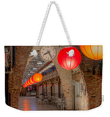 Chelsea Market I Weekender Tote Bag by Clarence Holmes
