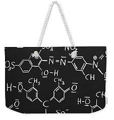 Chemical Formulas Weekender Tote Bag by Chevy Fleet