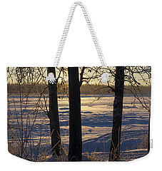 Chena River Trees Weekender Tote Bag