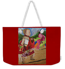 Cherokee Ribbon Dancers Weekender Tote Bag