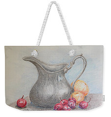 Cherries Still Life Weekender Tote Bag