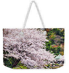 Cherry Blossom 2014 Weekender Tote Bag