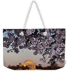 Cherry Blossom Tree With A Memorial Weekender Tote Bag