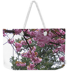 Cherry Blossoms 1 Weekender Tote Bag by David Trotter