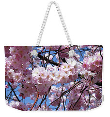 Cherry Blossom Trees Of Branch Brook Park 3 Weekender Tote Bag