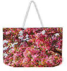 Weekender Tote Bag featuring the photograph Cherry Blossoms In Washington D.c. by Mitchell R Grosky