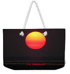 Weekender Tote Bag featuring the photograph Cherry Drop Sunrise by Dianne Cowen