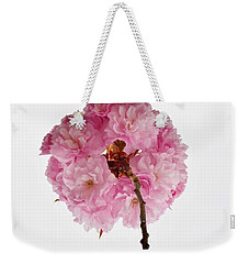 Cherry Globe Weekender Tote Bag by Sonali Gangane
