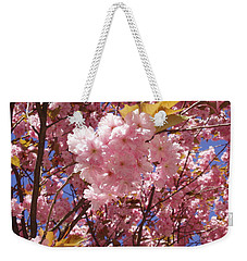 Cherry Trees Blossom Weekender Tote Bag