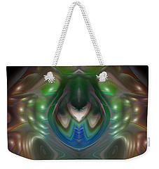 Weekender Tote Bag featuring the digital art Cherub 5 by Otto Rapp