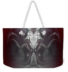 Weekender Tote Bag featuring the digital art Cherub 7 by Otto Rapp