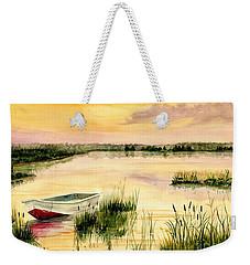 Chesapeake Marsh Weekender Tote Bag by Melly Terpening