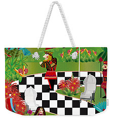 Chess Festival - Limited Edition 2 Of 20 Weekender Tote Bag by Gabriela Delgado