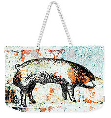Chester White Boar 9 Weekender Tote Bag