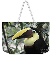 Chestnut-mandibled Toucan Weekender Tote Bag by Teresa Zieba