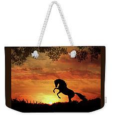 Chestnut Sunset Weekender Tote Bag