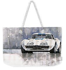 Chevrolet Corvette C3 Weekender Tote Bag