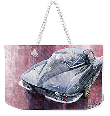 Chevrolet Corvette Sting Ray 1965 Weekender Tote Bag