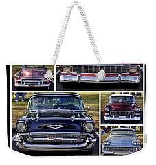 Chevy Weekender Tote Bag by AJ  Schibig