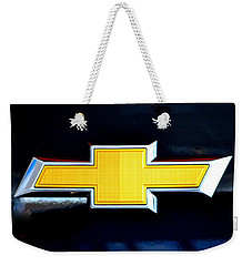 Chevy Bowtie Camaro Black Yellow Iphone Case Mancave Weekender Tote Bag