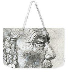 Cheyenne Medicine Man Weekender Tote Bag